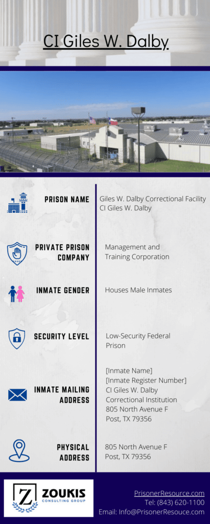 Giles W. Dalby Correctional Facility | Correctional Institution Giles W. Dalby